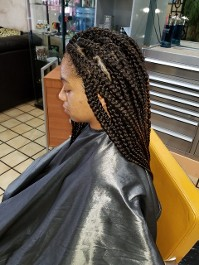 Braiding Side View
