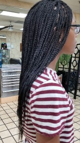 Braids Side View